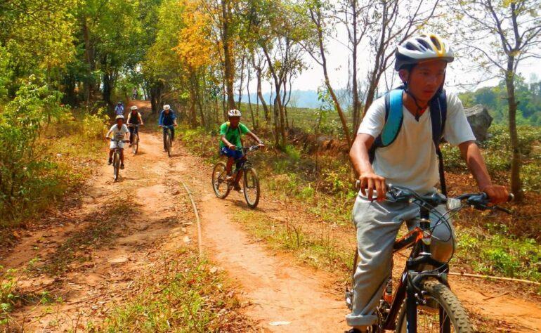 Biking At Sohliya Village