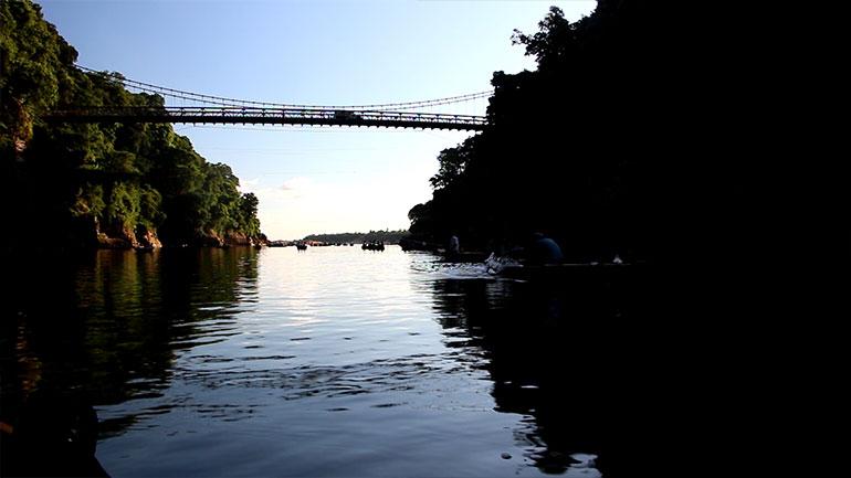 Jaflong Zero point Dawki river